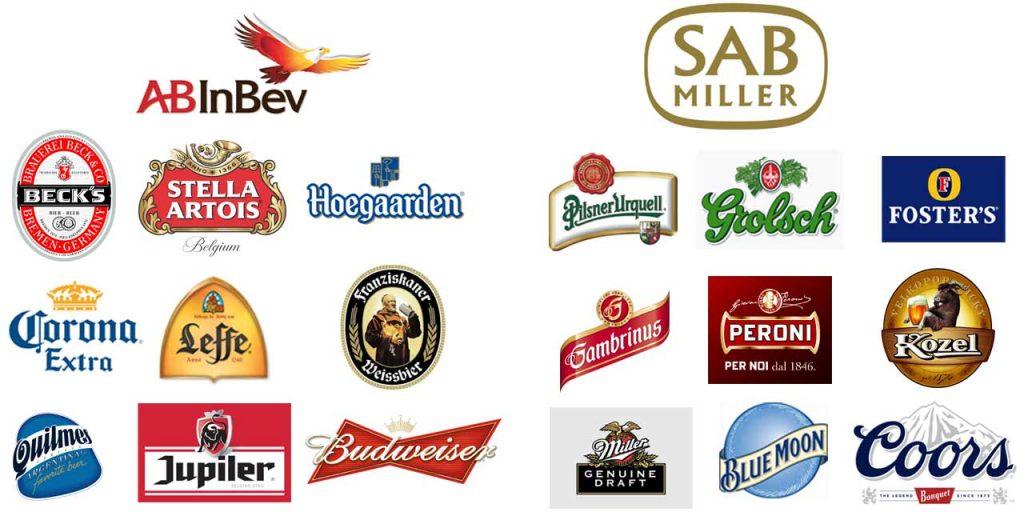 Fusion acquisition SAB Miller et AB Inbev
